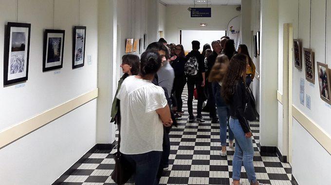 Vernissage de l'exposition photo des 3E